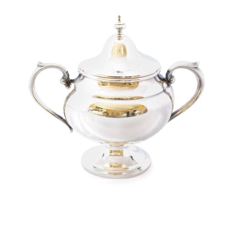 Gorham Puritan Sterling Silver Coffee Tea Service At 1stdibs