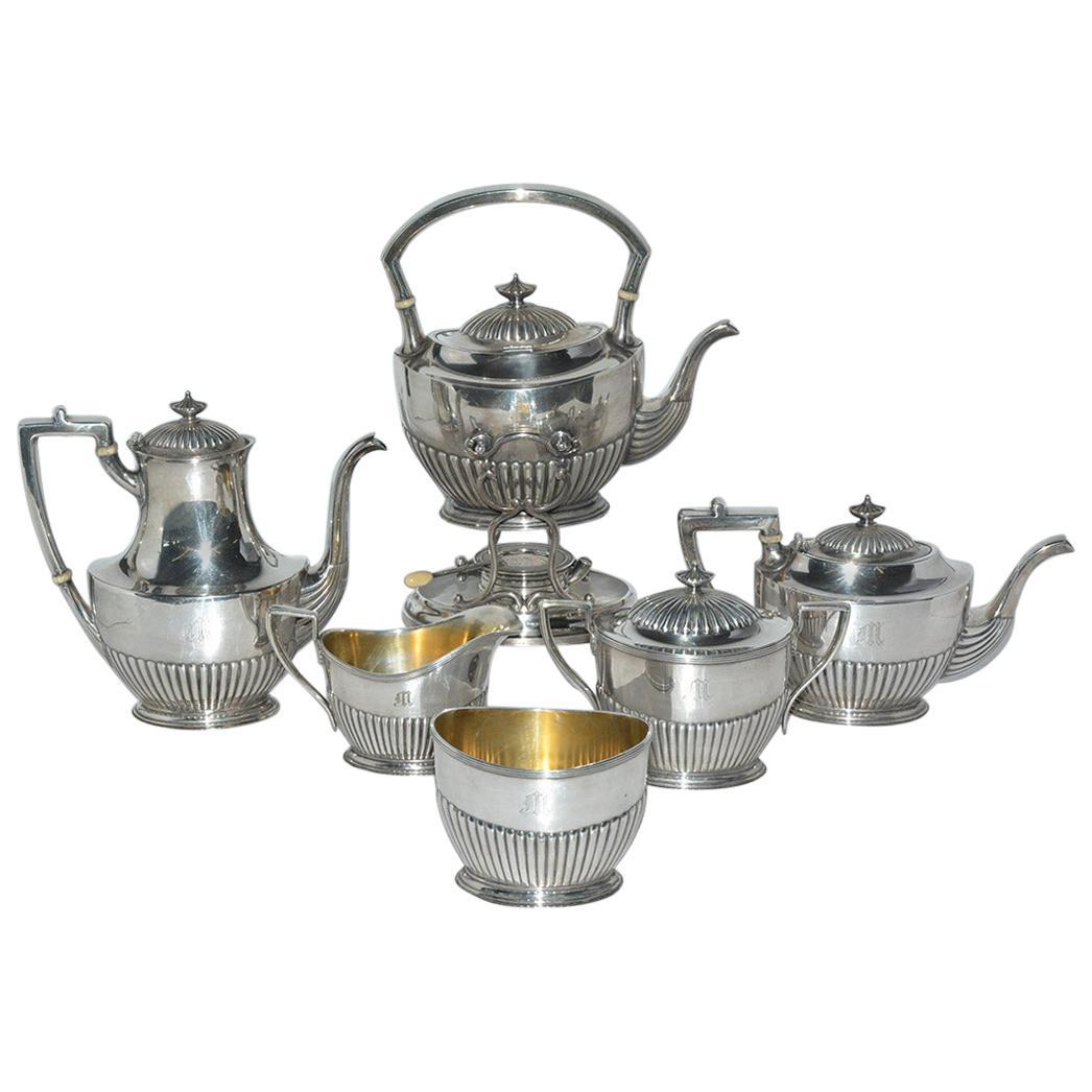 Gorham Silver Plated 6-Piece Tea Service