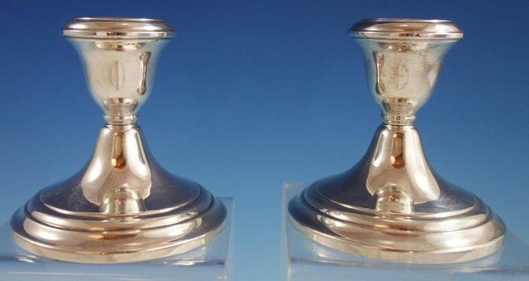 Gorham sterling silber leuchter paar #661 im angebot bei 1stdibs