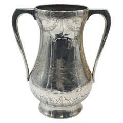 Gorham Sterling Silver Harness Racing Trophy Centerpiece