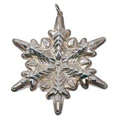 Gorham Sterling Silver Snowflake, 1972