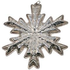 Gorham Sterling Snowflake, 1978