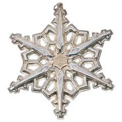 Gorham Sterling Snowflake, 1983
