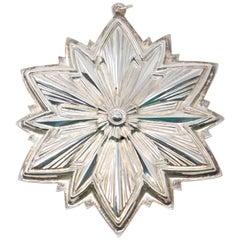 Gorham Sterling Snowflake, 1993