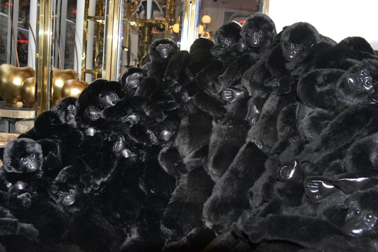 Gorillas Armchair Swivel in Limited Edition For Sale 1