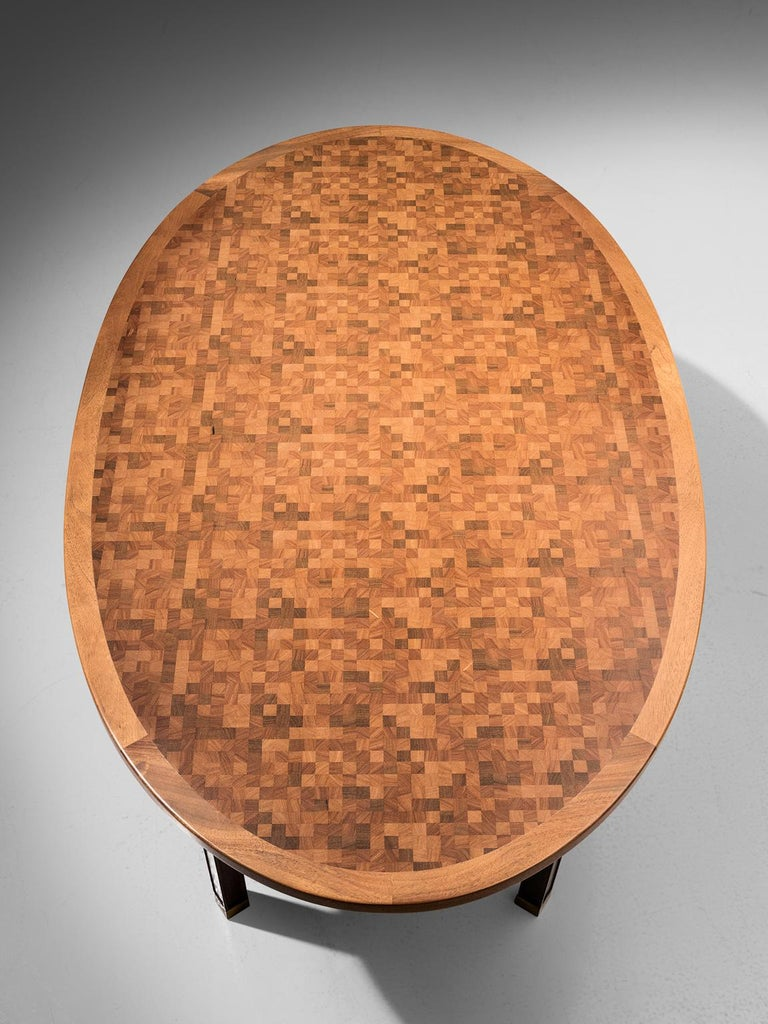 Gorm Lindum Architectural Oval Table In Excellent Condition For Sale In Waalwijk, NL