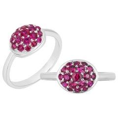 Goshwara Oval Ruby Ring