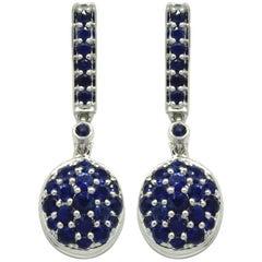 Goshwara Oval Sapphire Earrings