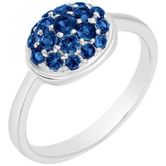 Goshwara Oval Sapphire Ring