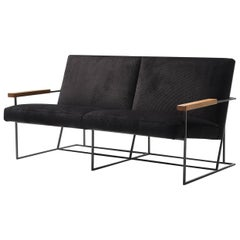 Gotham Black 2- Seater Sofa by Federico Carandini