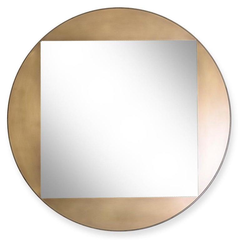 American Gotham Round Mirror 42