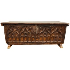 Gothic 16th Century Blanket Chest