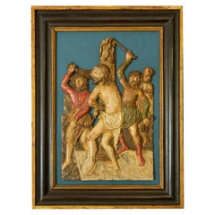 Gothic Altarpiece of the Torture of Jesus Christ