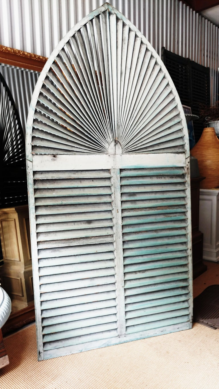 Gothic Arch Window Shutter For Sale 6