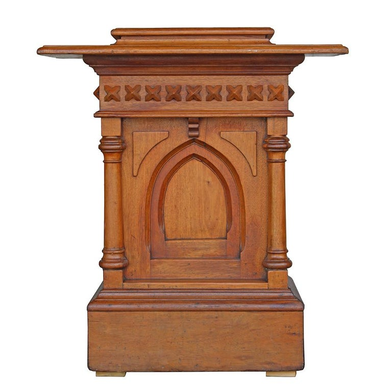 Gothic Revival Church Podium For Sale