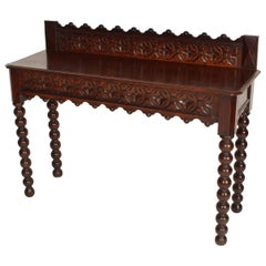 Gothic Revival Console Table