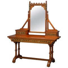 Gothic Revival Dressing Table