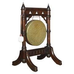 Gothic Revival Oak Dinner Gong