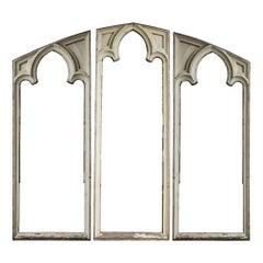 Gothic Window Frame Triptych