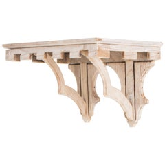 Gothic Wooden Wall Console