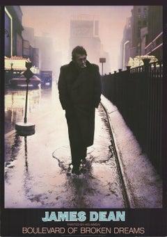 1987 Gottfried Helnwein 'James Dean' Offset Lithograph