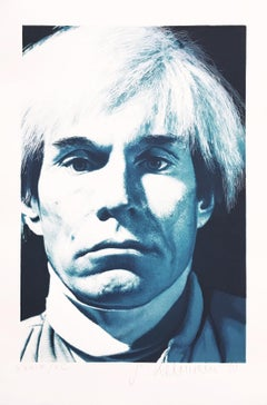 Andy Warhol, Portrait, Contemporary Art, Photorealistic, 20th Century