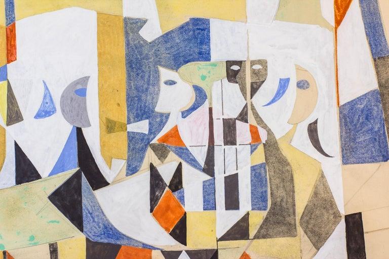 Swedish Gouache Painting