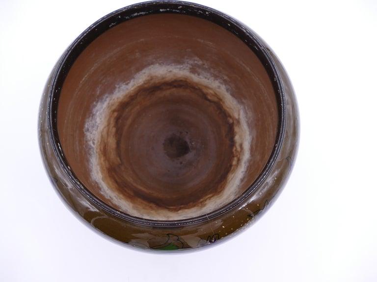 Ceramic Gouda Cachepot, Netherlands, 1919 For Sale