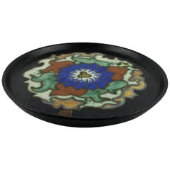 Gouda Pottery Art Nouveau Decorative Plate/Dish, Holland
