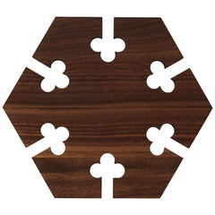 Gourmet Hexagon Wood Trivet, by Gunnar Cyrén from Warm Nordic