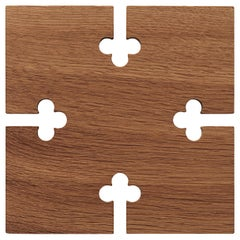 Gourmet Square Wood Trivet, by Gunnar Cyren from Warm Nordic