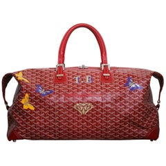 Goyard Boeing 55 Monogram Canvas Coated Duffle Bag