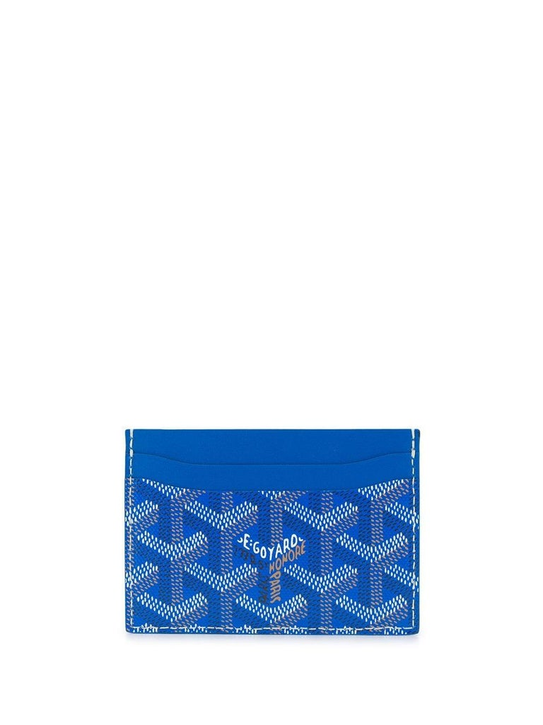 Goyard Customised Slotcard Wallet In Excellent Condition For Sale In London, GB
