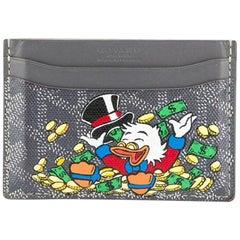 Goyard Grey Customized Slotcard Wallet