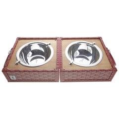 Goyard Dog Bowl