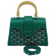 Goyard Goyardine Mini Saigon Green - New Condition