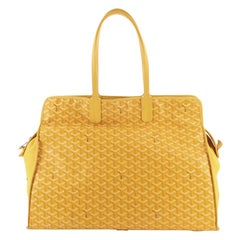 Goyard Hardy Pet Carrier Coated Canvas GM