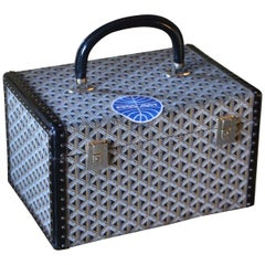 Goyard Jewelry Case, Goyard Trunk, Goyard Train Case, Goyard Beauty Case