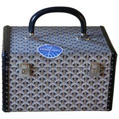 Goyard Jewelry Case, Goyard Trunk, Goyard Train Case, Goyard Beauty Case