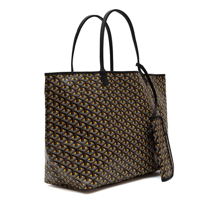 This limited edition Goyard Claire Voie Bag is the Saint Louis reinterpreted. The Claire Voie Bag features an optical illusion in the print, only to be seen when looked closely. Just like the Goyard Anjou Bag, this Claire Voie is also reversible.