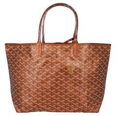 Goyard Saint Louis Metallic Bronze PM Tote Bag Limited Edition 2021 New w/Tag