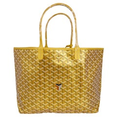 Goyard Saint Louis Metallic Gold PM Tote Bag Limited Edition 2021 New w/Tag