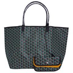 Goyard Saint Louis Opaline Claire Voie Blue Green GM Limited Edition