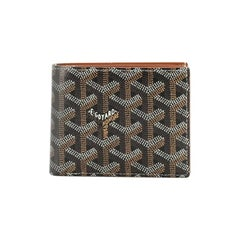Goyard Victoire Wallet Coated Canvas