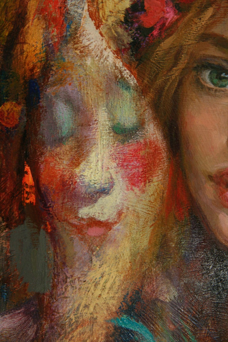 LUNA DE CARNAVAL GOYO DOMINQUEZ SPANICH CONTEMORARY ARTIST For Sale 1