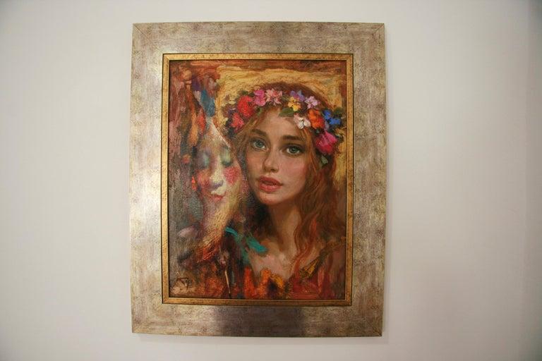 LUNA DE CARNAVAL GOYO DOMINQUEZ SPANICH CONTEMORARY ARTIST For Sale 2