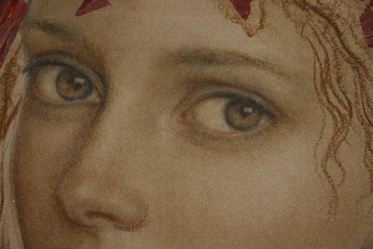 MIRADA GOYO DOMINQUEZ contemporary Spanish artist Realist Romantic - Painting by Goyo Dominguez