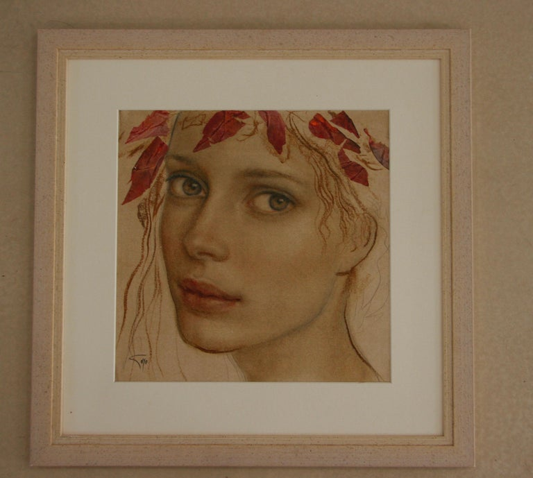 Goyo Dominguez, Spanish-born painter, is a romantic realist who paints figuratively with a unique sense of vision, beauty and imagination. His compositions, depicted with great technical skill and style, are compelling and serene, often with