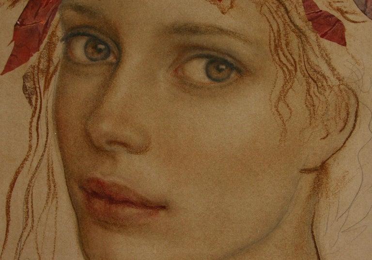 MIRADA GOYO DOMINQUEZ contemporary Spanish artist Realist Romantic For Sale 1