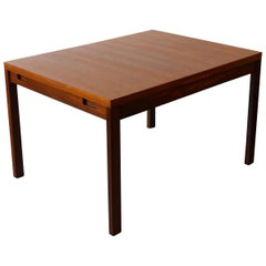 GR69 Teak Draw Leaf Extending Dining Table by Gordon Russell